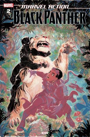 Marvel Action: Black Panther #2 (10 Copy Baker Cover)