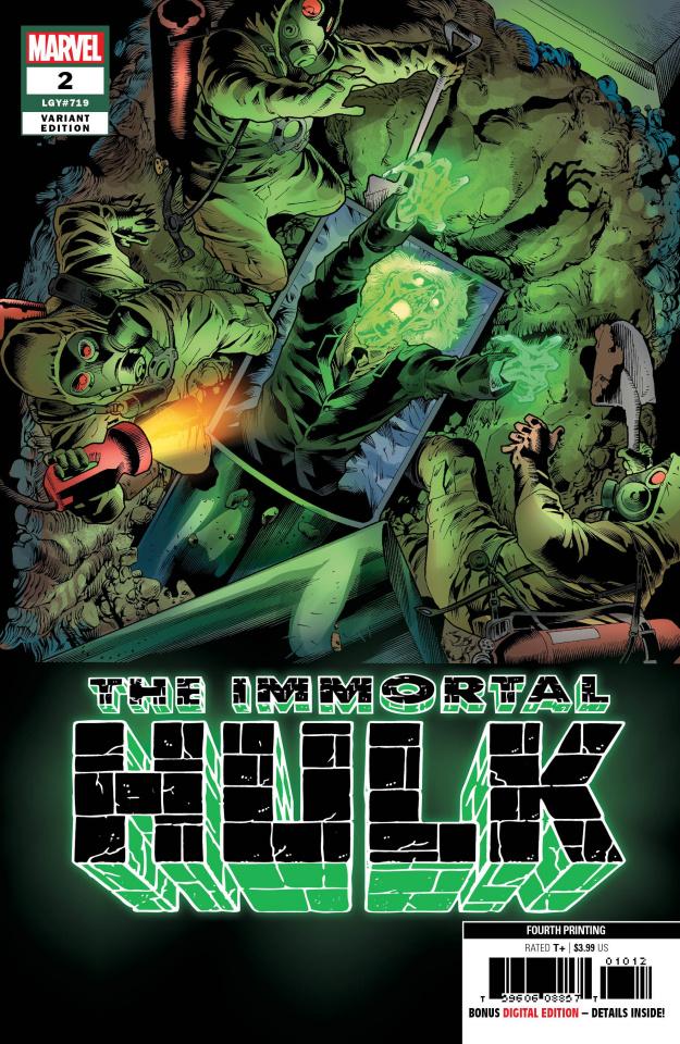The Immortal Hulk #2 (Bennett 4th Printing)