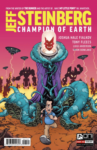 Jeff Steinberg: Champion of Earth #1 (Burnham Cover)