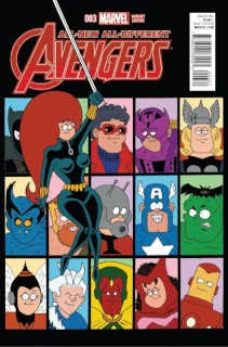 All-New All-Different Avengers #3 (Hembeck Cover)