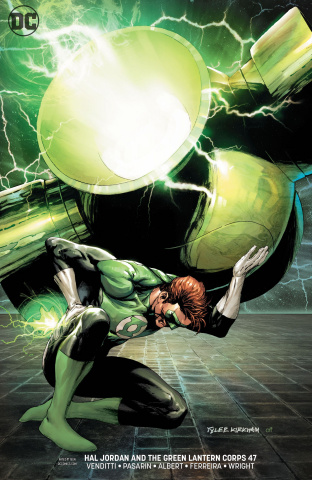 Hal Jordan and The Green Lantern Corps #47 (Variant Cover)