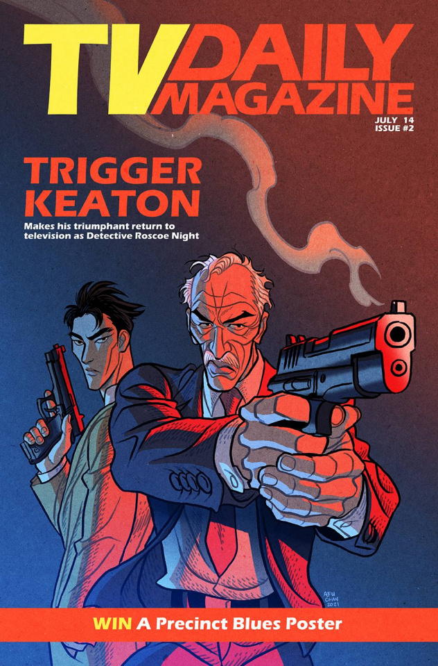 The Six Sidekicks of Trigger Keaton #2 (Chan Cover)