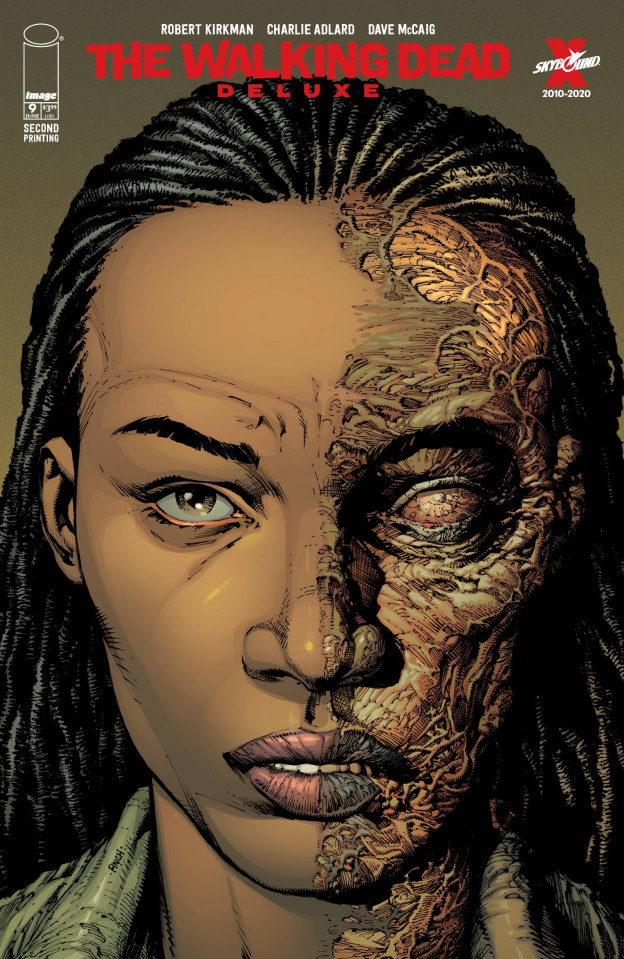 The Walking Dead Deluxe #9 (Finch & McCaig 2nd Printing)