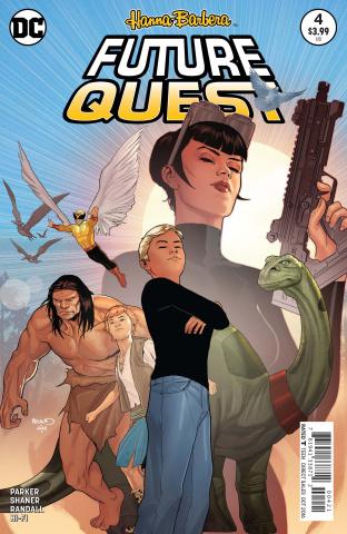 Future Quest #4 (Variant Cover)
