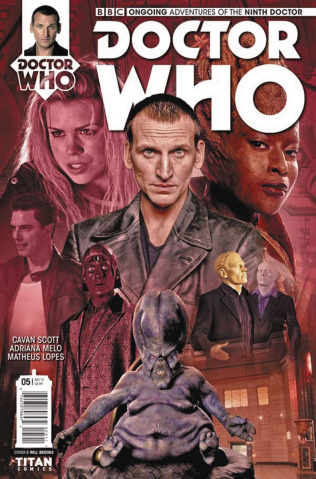 Doctor Who: New Adventures with the Ninth Doctor #5 (Photo Cover)