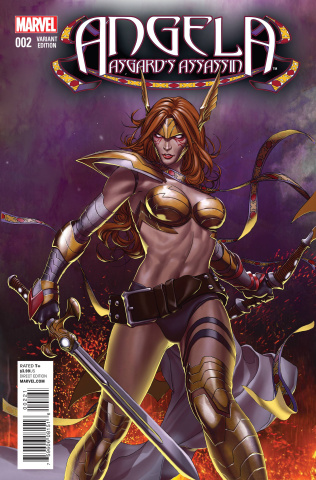 Angela: Asgard's Assassin #2 (Choi Cover)