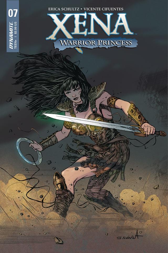 Xena #7 (Davila Cover)