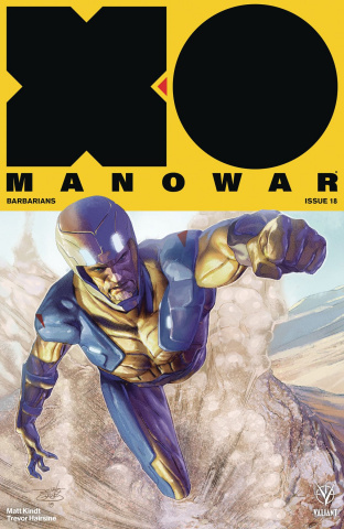 X-O Manowar #18 (50 Copy Icon Guedes Cover)