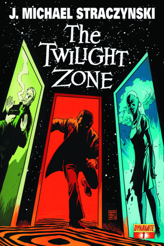 The Twilight Zone #1 (300 Copy Straczynski Silver Signed Cover)