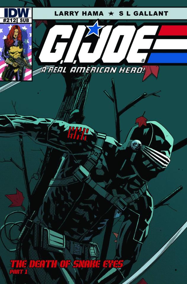 G.I. Joe: A Real American Hero #212 (2nd Printing)