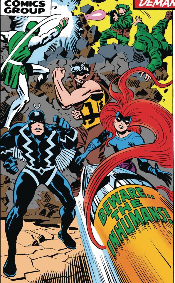 Inhumans #1 (True Believers Kirby Cover)