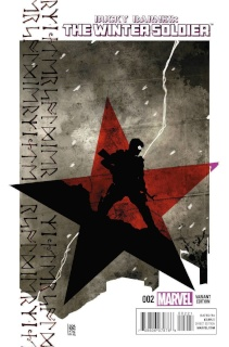 Bucky Barnes: The Winter Soldier #2 (Sorrentino Cover)