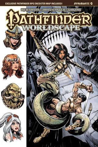 Pathfinder: Worldscape #5 (Mandrake Cover)