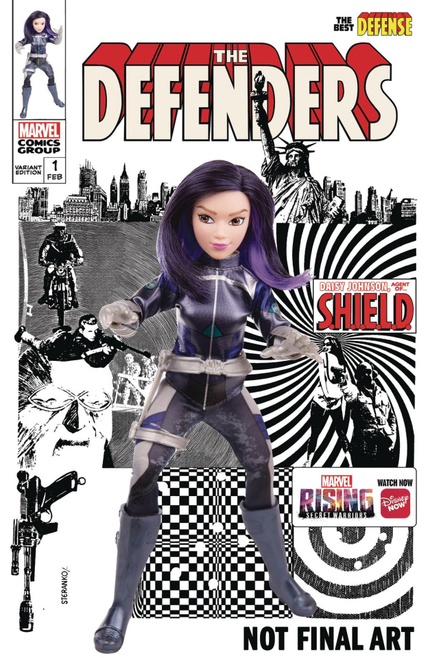 The Defenders: The Best Defense #1 (Marvel Rising Doll Homage Cover)