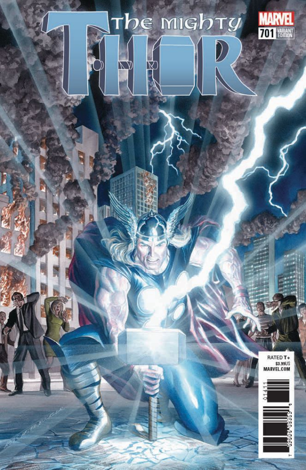 The Mighty Thor #701 (Alex Ross Cover)