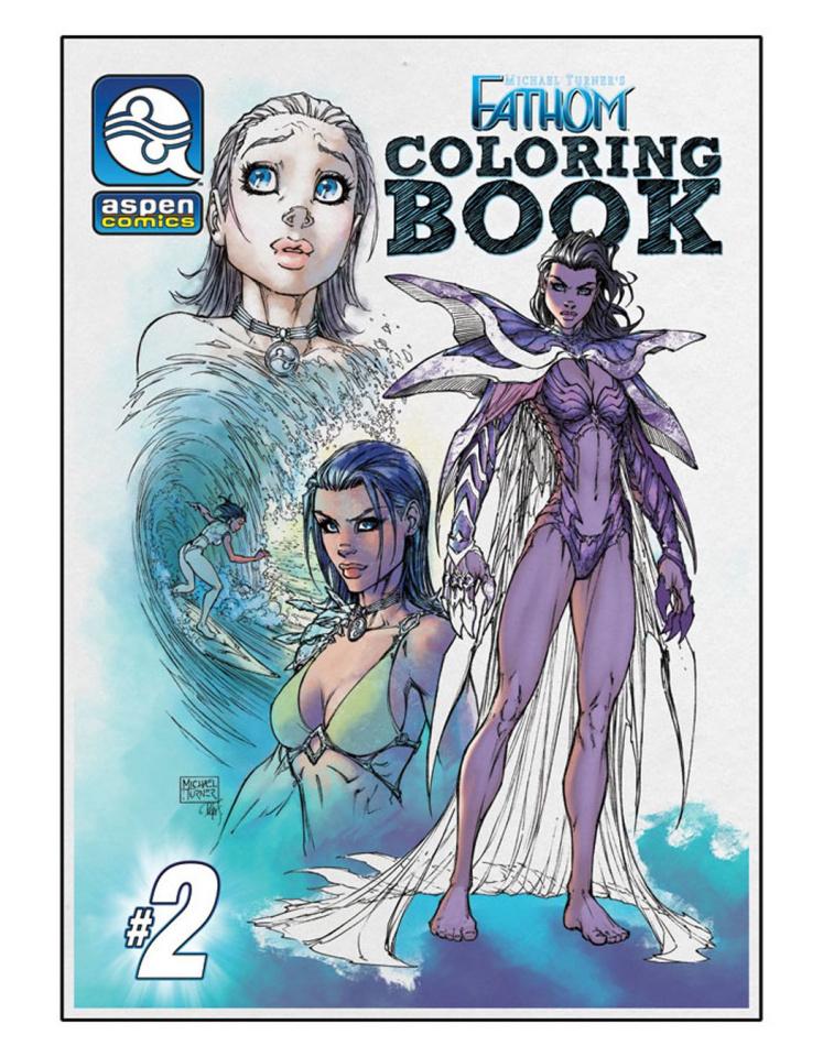 Fathom Coloring Book #2