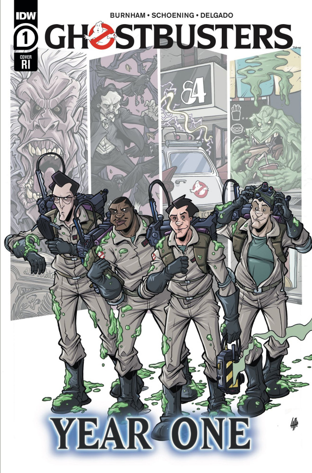 Ghostbusters: Year One #1 (10 Copy Lattie Cover)