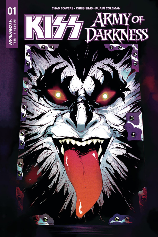 KISS / Army of Darkness #1 (Montes Cover)