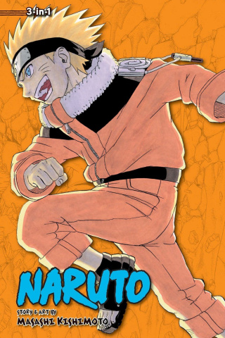Naruto Vol. 6 (3-in-1 Edition)