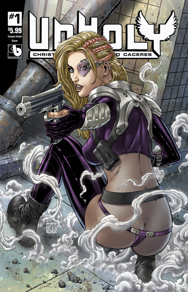UnHoly #1 (Femme Fatales Cover)