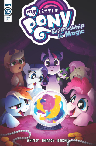 My Little Pony: Friendship Is Magic #86 (10 Copy Hughes Cover)