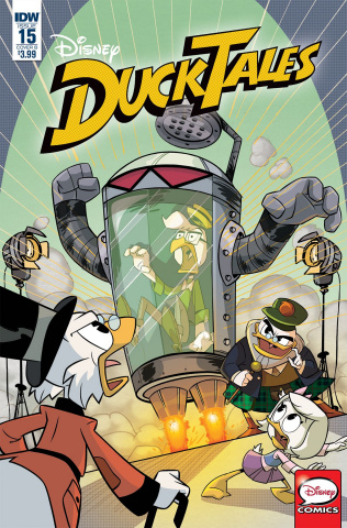 DuckTales #15 (Ghiglione Cover)