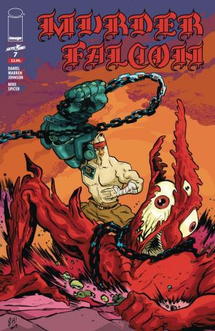 Murder Falcon #7 (Heavy Metal Henderson Cover)