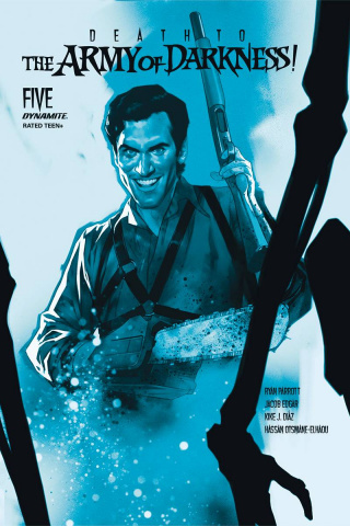 Death to the Army of Darkness #5 (21 Copy Oliver Tint Cover)