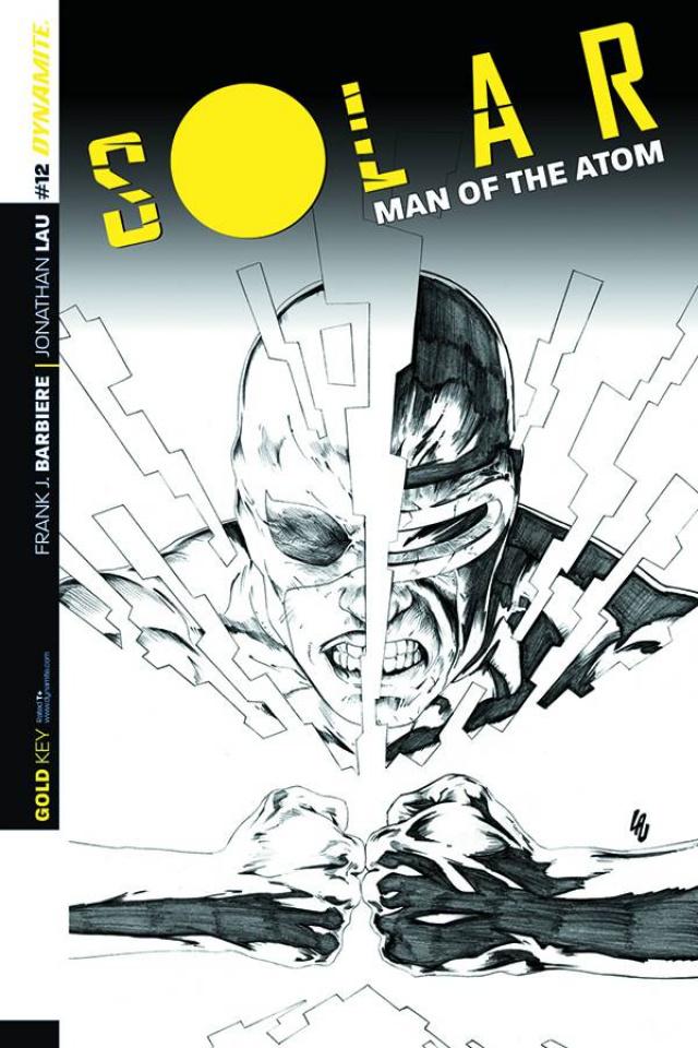 Solar: Man of the Atom #12 (25 Copy Lau B&W Cover)