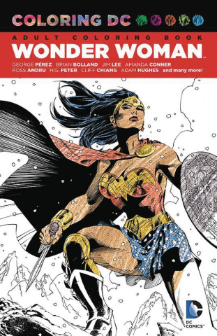 Coloring DC: Wonder Woman