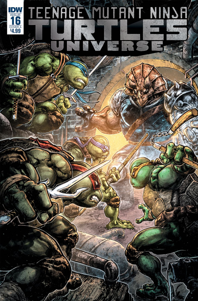 Teenage Mutant Ninja Turtles Universe #16 (Williams II Cover)