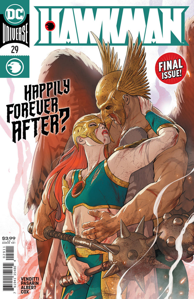 Hawkman #29 (Mikel Janin Cover)