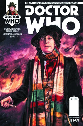 Doctor Who: New Adventures with the Fourth Doctor #1 (Zhang Cover)