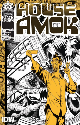 House Amok #2 (10 Copy McManus Cover)