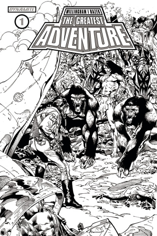The Greatest Adventure #1 (10 Copy Castro B&W Cover)