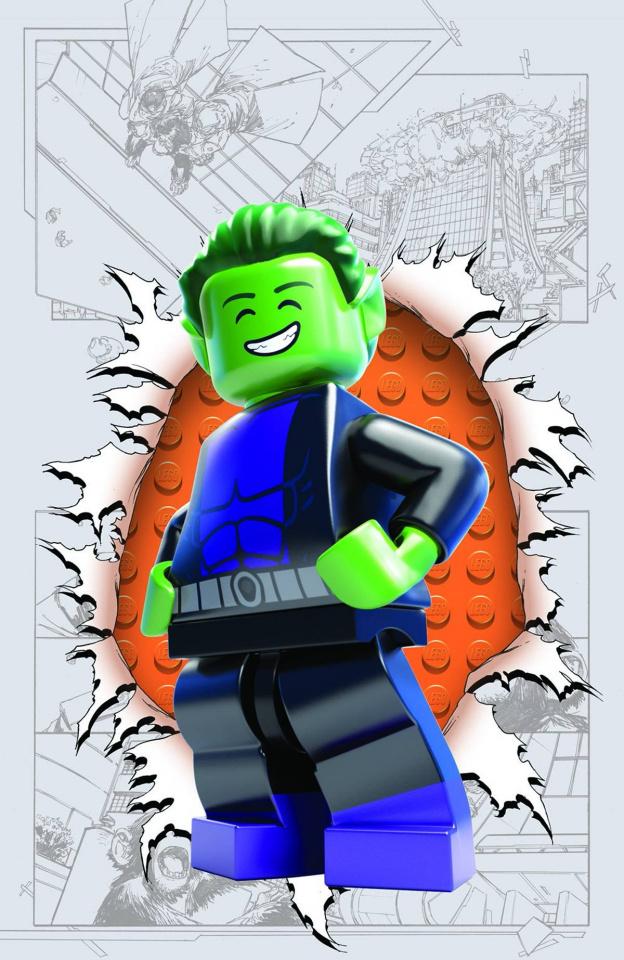 Teen Titans #4 (Lego Cover)