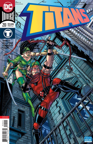 Titans #20 (Variant Cover)