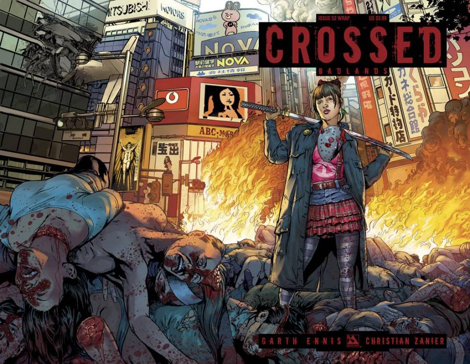 Crossed: Badlands #52 (Wrap Cover)