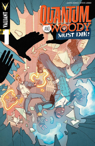 Quantum & Woody Must Die! #1 (10 Copy Christmas Cover)