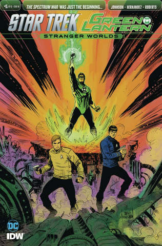 Star Trek / Green Lantern #5 (10 Copy Cover)