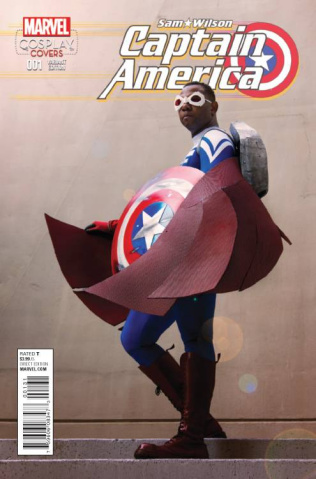 Captain America: Sam Wilson #1 (Cosplay Cover)