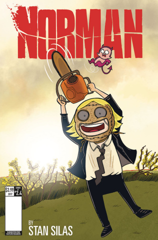 Norman: The First Slash #4 (Ellerby Cover)