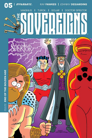 The Sovereigns #5 (Hembeck Cover)