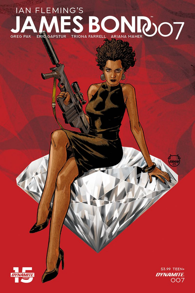 James Bond: 007 #7 (Johnson Cover)