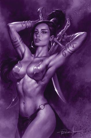 Dejah Thoris #11 (25 Copy Parrillo Tint Virgin Purple Cover)