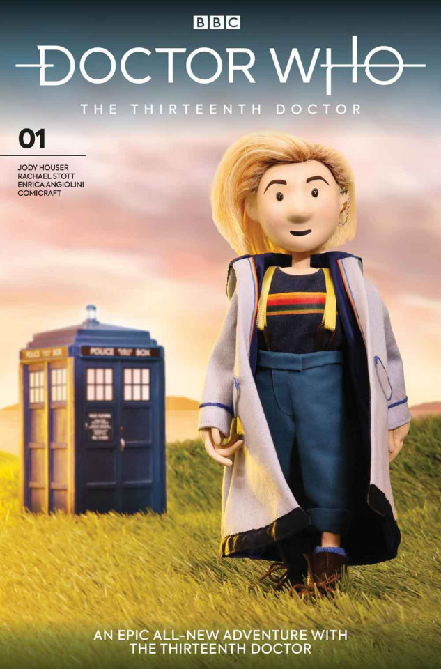 Doctor Who: The Thirteenth Doctor #1 (Doctor Puppet Cover)