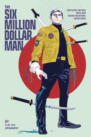 The Six Million Dollar Man #1 (Walsh Cover)