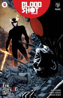 Bloodshot: Reborn #12 (Jimenez Cover)