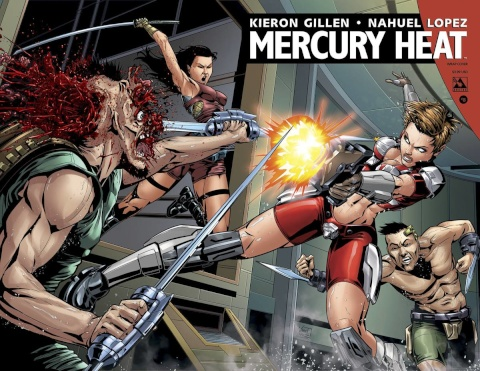 Mercury Heat #8 (Wrap Cover)