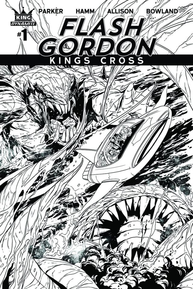 Flash Gordon: Kings Cross #1 (10 Copy Cover)